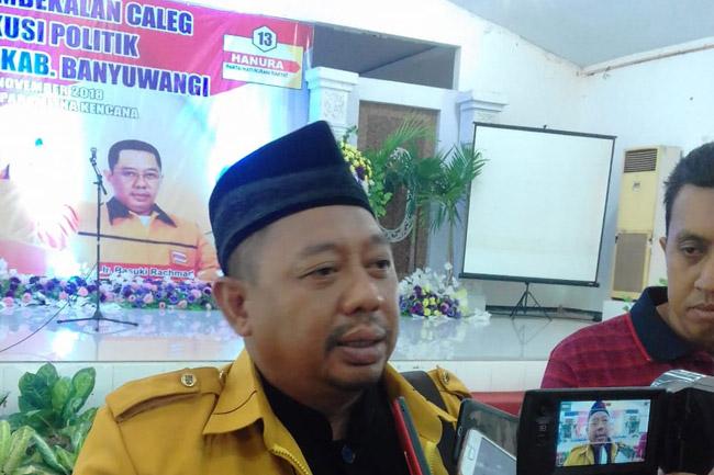 Hanura Banyuwangi Pasang Target Realistis Soal Kursi DPRD