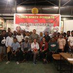 Gandeng Mahasiswa Se Jayapura, Binmas Noken Polri Bangun Papua